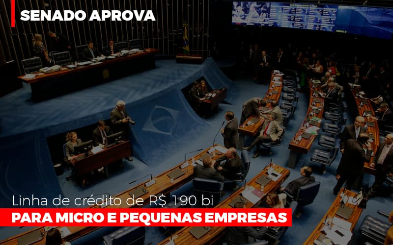 Senado Aprova Linha De Crédito De R$190 Bi Para Micro E Pequenas Empresas